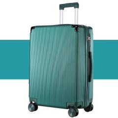 20寸镜面拉链框旅行箱 硬质合金包角登机箱 活动现场礼品