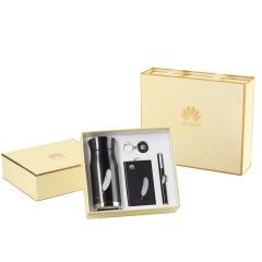 【NANV】商务礼品四件套 一杯一笔一扣一移动电源  拜访客户礼品