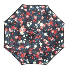 貝拉米紅 創意反骨手開免持多種花色 雙層反向傘 4s店一般送什么禮品