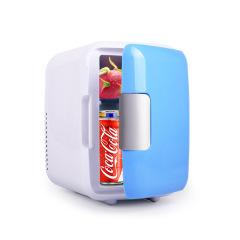 4L車載迷你小冰箱 便攜式車載冰箱汽車冷暖箱車用冷藏箱