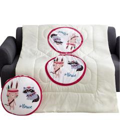 【卡通叢林系列】獵人 抱枕被 空調被 多功能被 午休靠枕 抱枕 員工禮品