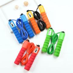 运动海绵计数跳绳 手感舒适防滑柔软 什么网站可以买到做展销活动的礼品
