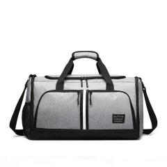 可折疊旅行包手提 健身包 個性化設計大容量干濕分離travel bag 商務旅游包定制