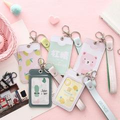 水果动物卡套卡包 时尚挂绳设计 途公交地铁卡包 多用途卡套 适合当活动礼品的