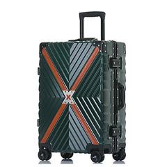 都市摩登元素拉杆箱 20寸装甲款旅行箱 创意商务礼品