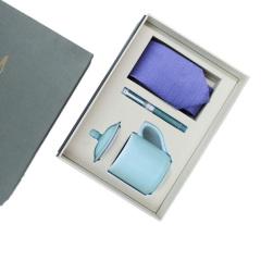 【先生礼】商务臻藏礼盒 商务男士领带+龙泉青瓷杯+G20元首笔组合礼盒 高端商务套装