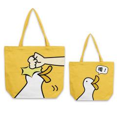 【来图定制】45*35cm 横版纯棉帆布袋彩印定制 工艺礼品定制