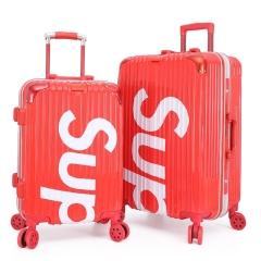 升级铝框款潮流拉杆箱 20寸ABS旅行箱 创意商务礼品