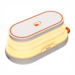 hoco premium product 四合一多功能移动电源 便携式小夜灯 无线充电宝手机支架 创意数码礼品定制 科技小礼品