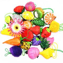 创意水果植物造型环保袋 环保折叠手提袋 购物袋 展会预登记抽奖礼品