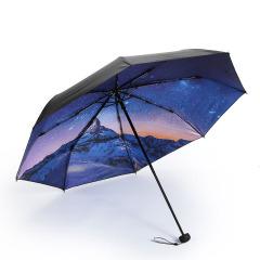 天堂伞 轻松防晒黑胶伞小黑伞 晴雨两用晴雨伞 促销送什么礼品