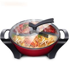 苏泊尔(SUPOR)韩式鸳鸯电火锅 一锅两味 小家电定制