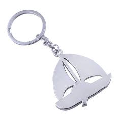 光面帆船金属钥匙扣 时尚设计 活动奖励品