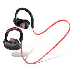 黑科技双耳蓝牙耳机 入耳式运动无线挂耳式蓝牙耳机 校园歌手大赛奖品 房地产礼品方案