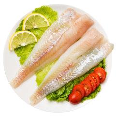 【京東伙伴計劃—僅限積分兌換】阿拉斯加進口狹鱈魚片500g/袋 5-6片