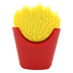 U盤定制 迷你PVC軟膠U盤 食物造型立體U盤 薯條優盤 洋快餐企業禮品