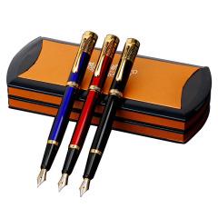 英雄钢笔礼盒套装3807学生练字商务办公签字笔礼品笔 可印制LOGO