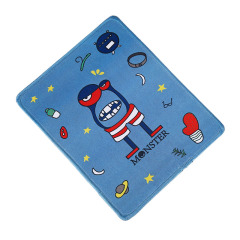 蓝色怪兽 可爱韩版卡通鼠标垫 创意学生鼠标垫 办公桌面垫 活动送什么礼品