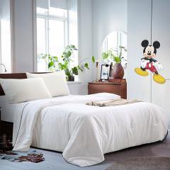 迪士尼(Disney)米奇蚕丝被 2米高密磨毛压花被子 舒适空调被 部门活动奖品