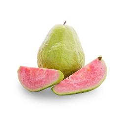 【京东伙伴计划—仅限积分兑换】现摘红心芭乐番石榴水果2.5kg