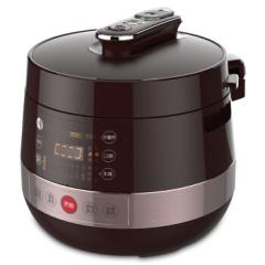 美的(Midea) 美的(Midea)电压力锅PCS5039H褐色 智能多功能双胆5L电压力锅 家居小礼品