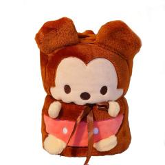 【米老鼠】卡通空调小毛毯 方便携柔软舒适 不褪色不掉毛 儿童节礼品推荐