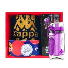 Kappa 意大利背靠背 限量版运动套装750ml+运动巾 运动比赛奖品