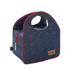 藍色牛津布便當包保溫袋 送客戶什么禮品最實用