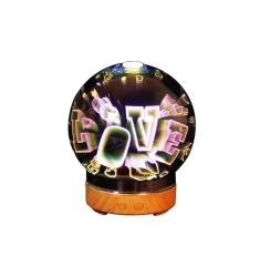 LOVE图案3D创意小夜灯 家?#26377;?#25670;件 活动奖励品 纪念礼品