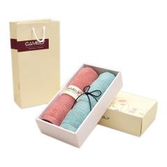 【16支精梳紗】長絨棉毛巾禮盒 全A類素色純棉毛巾兩件套 團隊比賽獎品買什么好
