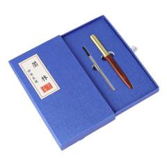 【匠心】黄铜红木签字笔 钢笔单支礼盒装 檀木/鸡翅木/花梨木 创意文化礼品