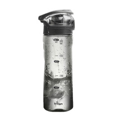 Tritan运动水杯 婴儿食品级便携运动防摔水壶 交车礼品