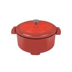 【MACAIIROOS】摩登红家用3L电火锅分体式不粘多功能电热锅  创意小家电定制