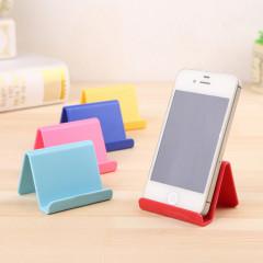 韩国创意手机座 可爱糖果色手机支架 小巧便携手机固定底座手机座 1元以内礼品 宣传展会礼品