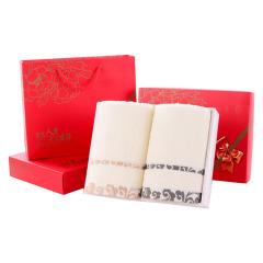 【祥云】毛巾礼盒套装纯棉毛巾双条装 来自新疆棉花 开业活动礼品
