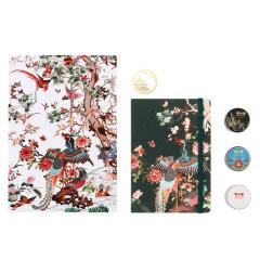 【颐和园】百鸟朝凤手账套装 创意设计 员工生日礼物
