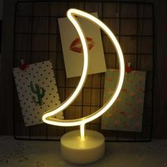 【月亮】創意造型小夜燈優質燈管 臺式小夜燈 工業展會禮品