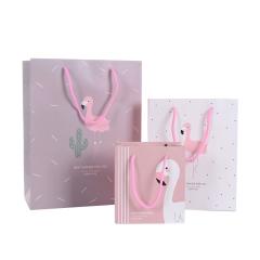 现货纸袋 卡通小清新手提袋 小鸭子图案纸质礼品袋