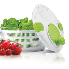 果蔬脱水器高速离心轻松脱水蔬果沥水篮家用蔬菜沙拉甩干机 国庆节送什么礼品
