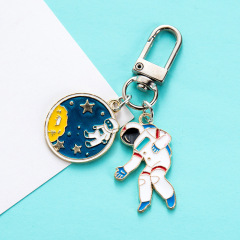宇航员太空人钥匙扣挂件 钥匙扣包包链 酒店小礼品赠送方案