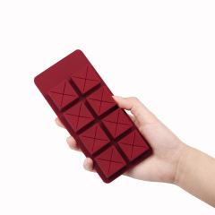 巧克力口红收纳盒 硅胶创意桌面彩妆整理盒 时尚收纳盒 化妆品赠品