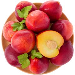 【京东伙伴计划—仅限积分兑换】国产油桃 精选优级果2.5kg装 单果约80g起