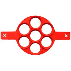 面大师煎饼模煎烘焙模具 7孔--圆形 新奇创意礼品