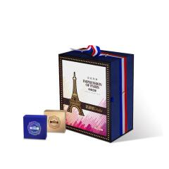 【印象巴黎】法式月餅*16 流心奶黃藍莓蜜瓜蜜戀荔枝玫瑰西番蓮菠蘿等禮盒 中秋節禮品