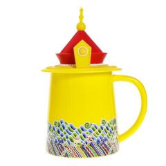 故宫皇帝龙袍杯礼盒装 中国风创意陶瓷杯 龙袍马克杯370ML 送国外客户礼品 中国特色礼品