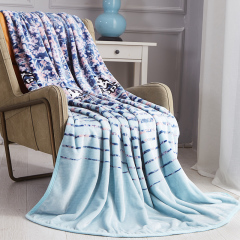 Kappa 意大利背靠背 向阳花开盖毯 公司礼品给员工送什么