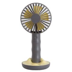 北歐風簡竹桌面小風扇 迷你便攜手機支架風扇 USB充電手持風扇 運動會小獎品