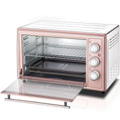小熊(Bear)烘焙甜心粉色多功能家用电烤箱烤炉  年会奖品推荐