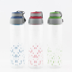 乐扣乐扣(Lock&Lock)运动便携水壶 创意塑料茶杯  防漏水杯  700ml   HLC807TB/TG/TR