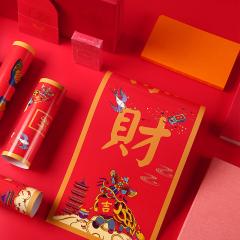 2019猪年新春大礼包 红包对联贺卡多产品组合套装 年会礼品推荐 年会伴手礼
